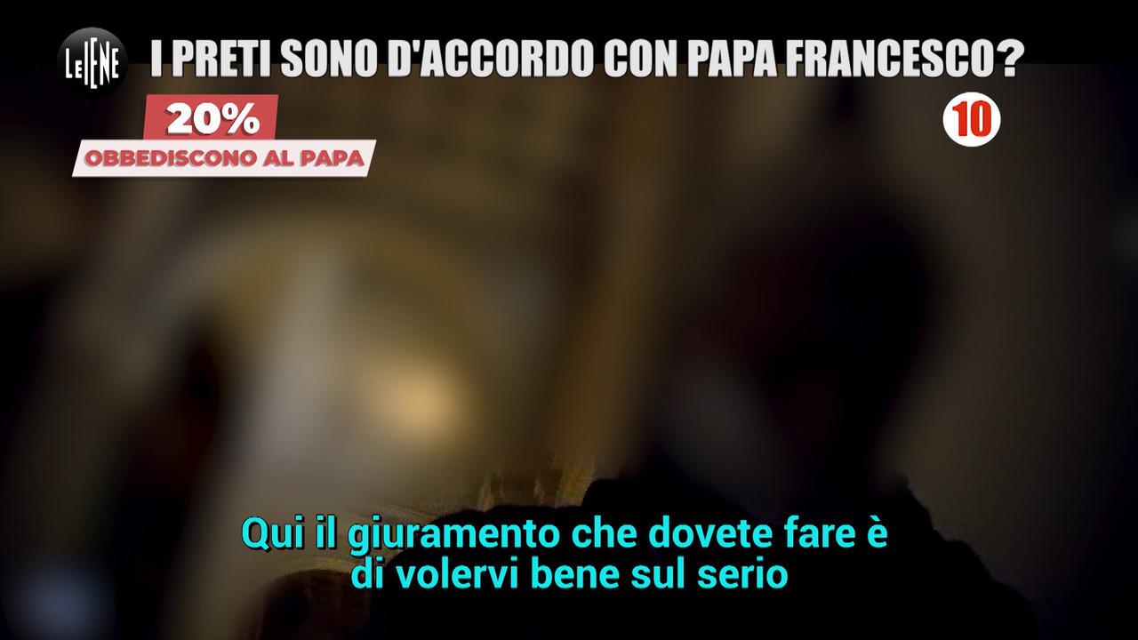 Papa Francesco omosessuali preti