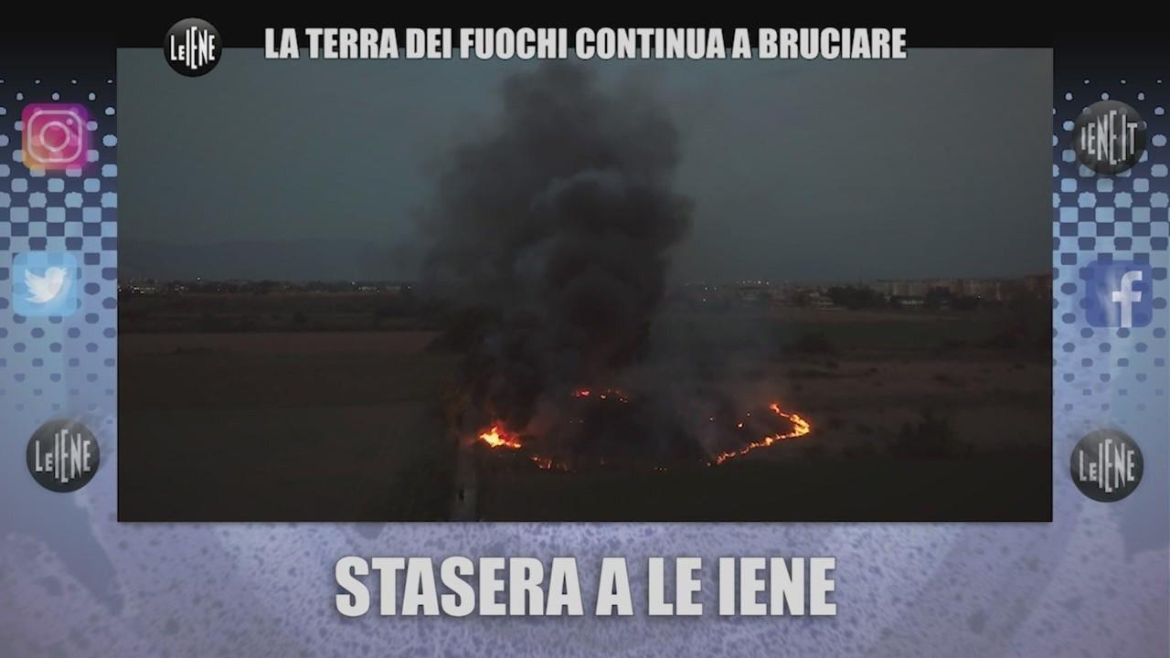 terra fuochi bruciare