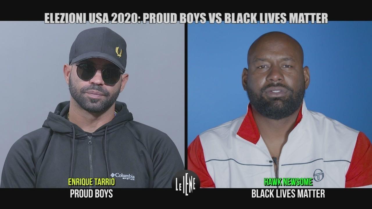 elezioni usa black lives matter proud boys