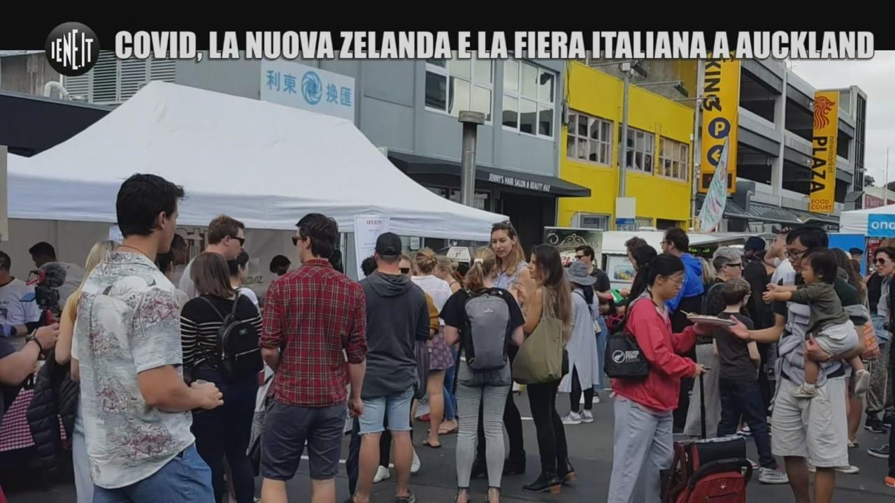 Coronavirus Nuova Zelanda festival italiano