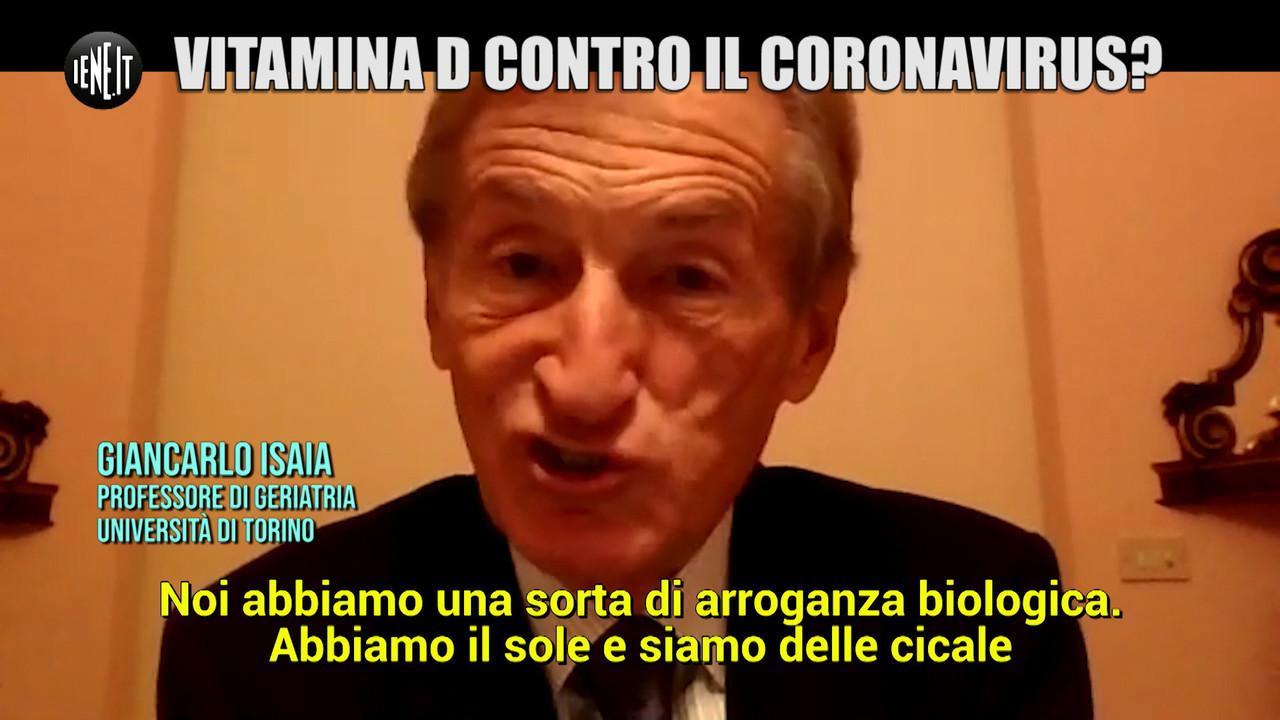 Vitamina D coronavirus studio italiano