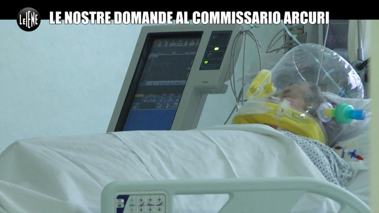 covid ospedali domande Arcuri risposta