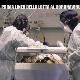 pronto soccorso Covid lotta virus