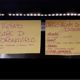 bar roma vietato parlare coronavirus