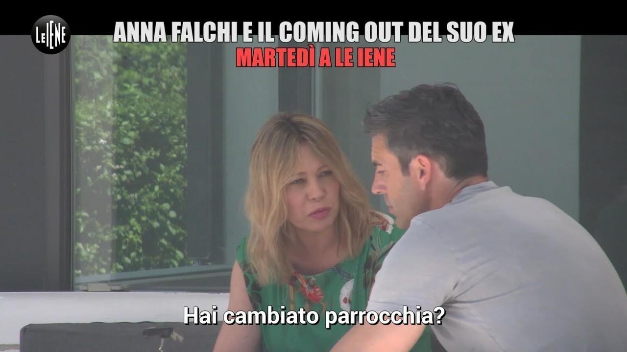 scherzo anna falchi compagno coming out