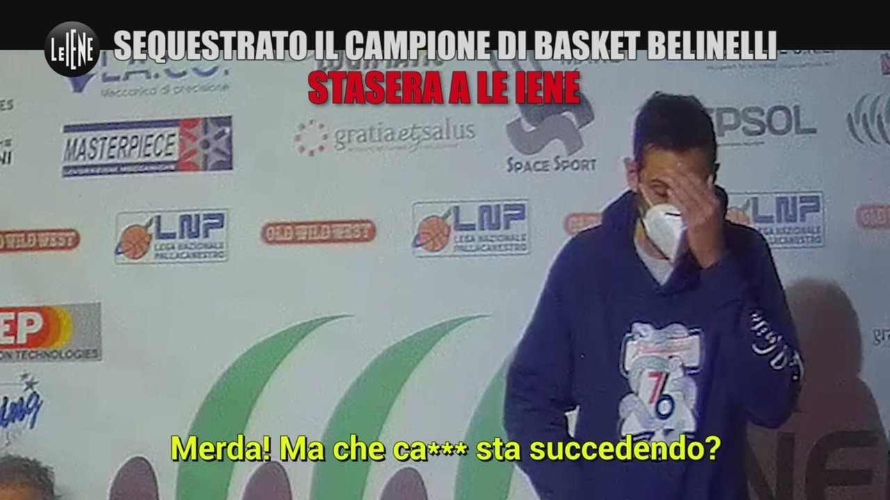 scherzo Marco Belinelli rapito