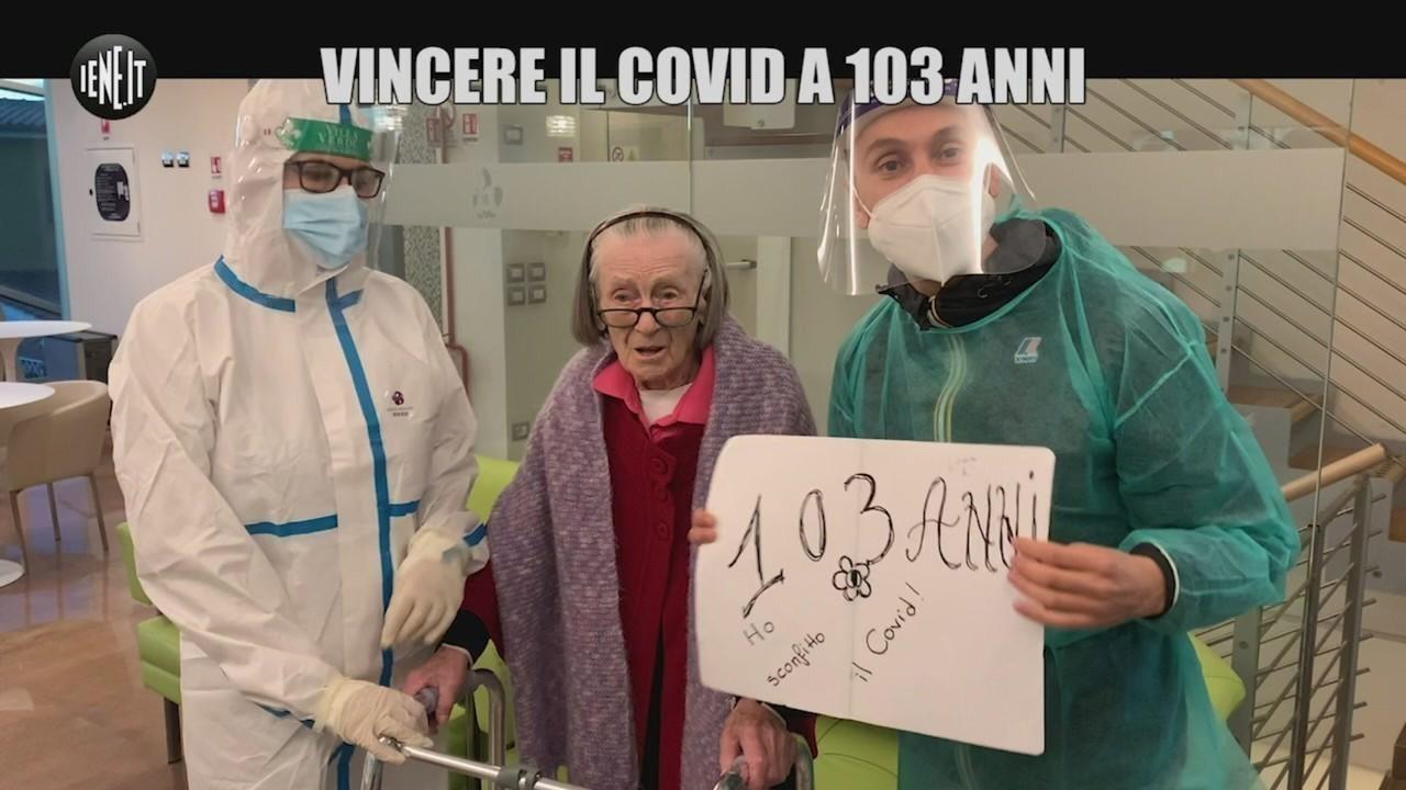 103 anni sopravvive covid