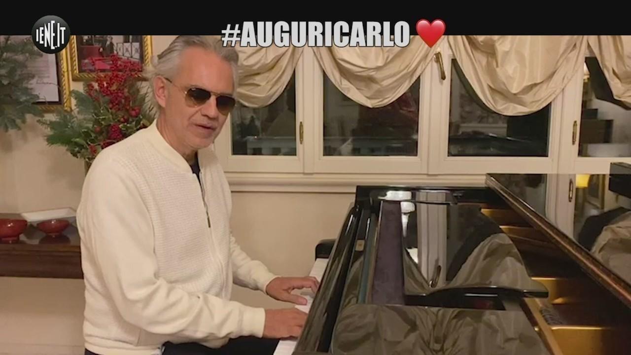 Andrea Bocelli #auguricarlo