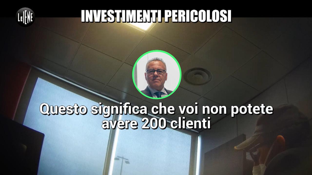 investimenti pericolosi milioni euro azienda
