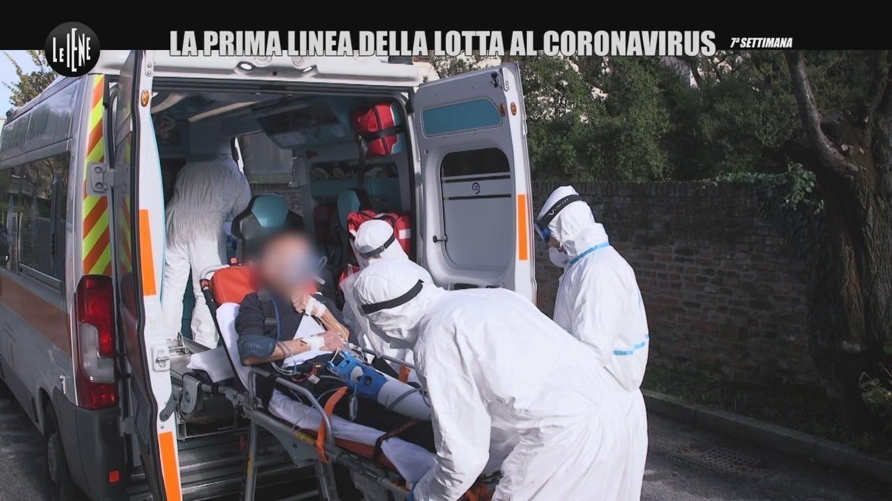 covid emergenze ricovero ospedale padova