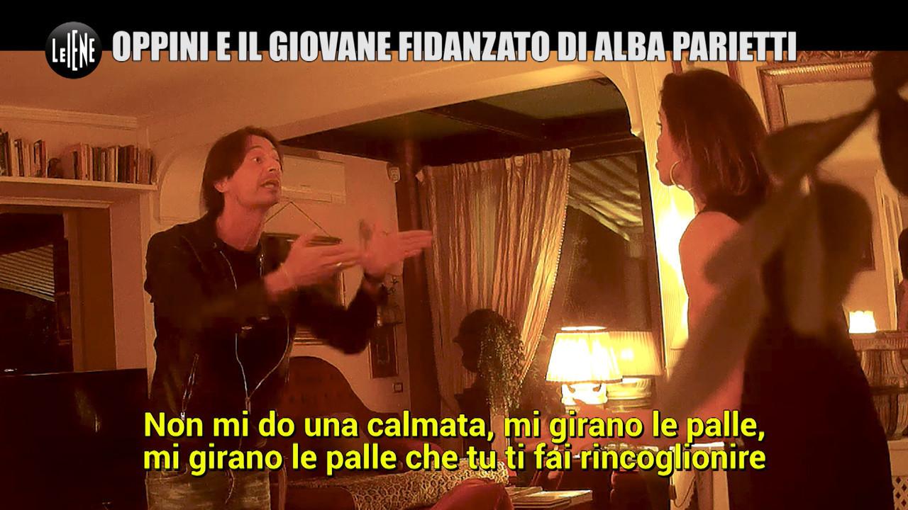 Scherzo Francesco oppini alba parietti