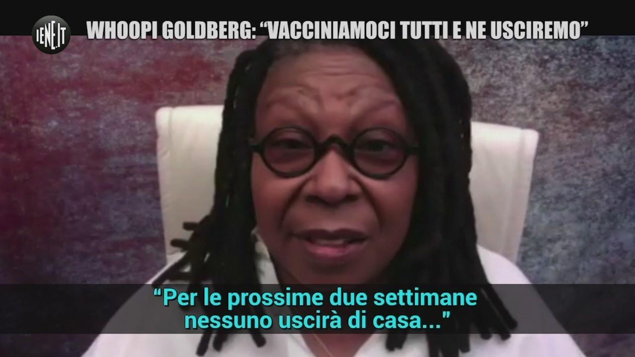 Whoopi Goldberg vaccino