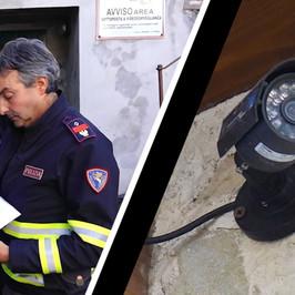Grande Fratello abruzzese oscurate telecamere poliziotto