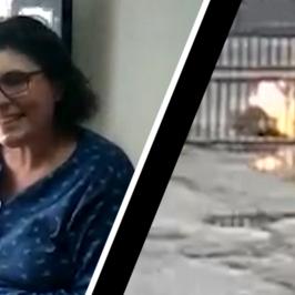marito fuoco maria antonietta ospedale