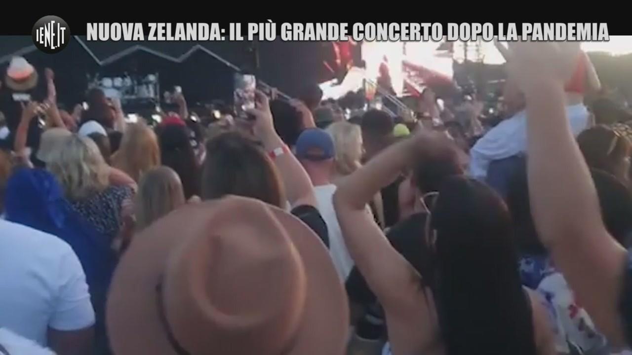 Nuova Zelanda concerto dopo pandemia