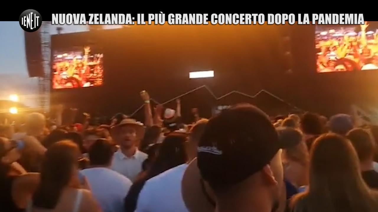 Nuova Zelanda: il più grande concerto dall'inizio pandemia