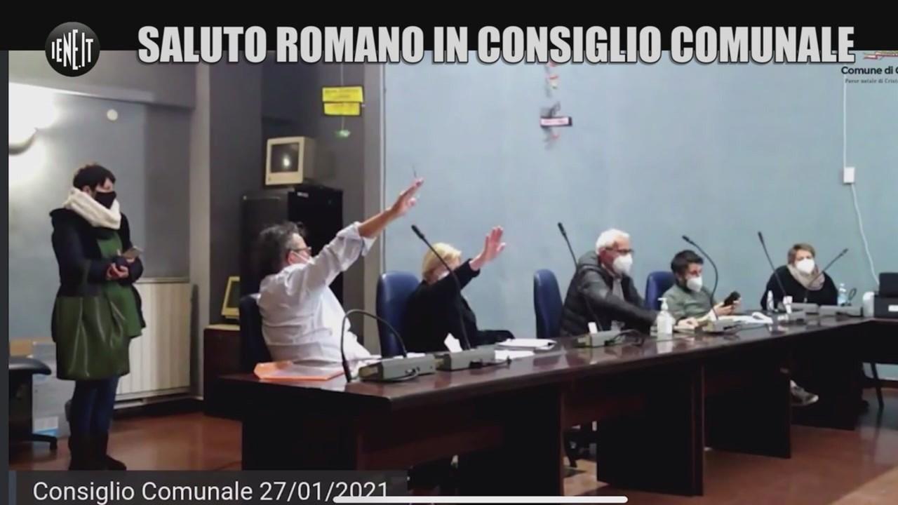 cogoleto saluto romano consiglio comunale