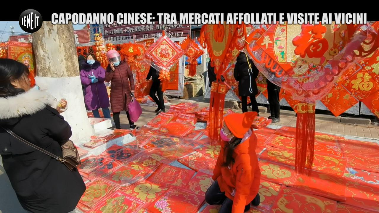 Capodanno cinese Covid mercati affollati visite