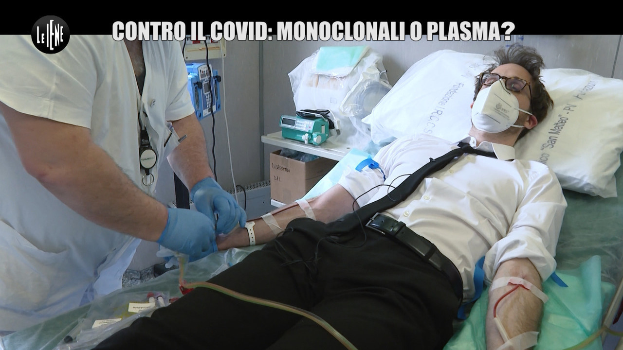 Donazioni plasma covid