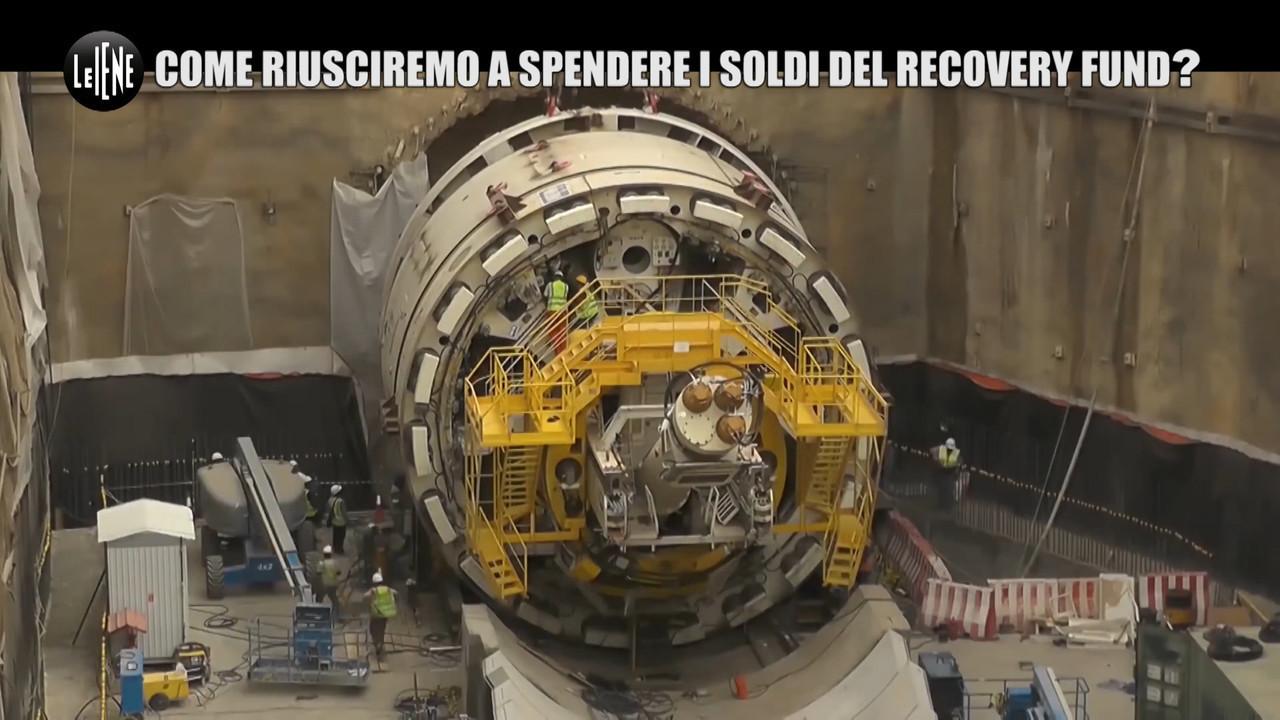 Recovery fund opere italia