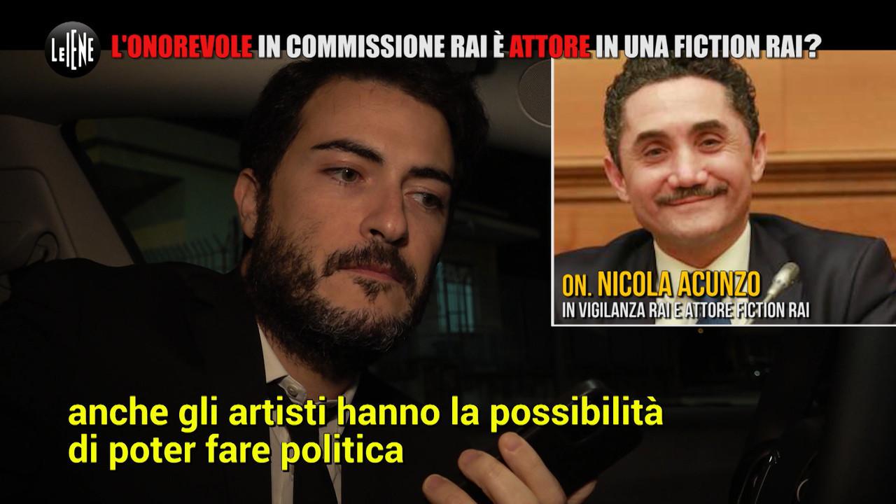 MONTELEONE: Nicola Acunzo, deputato e attore nella vigilanza Rai