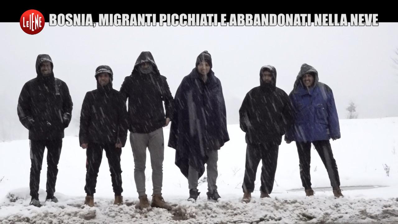 migranti bosnia torture subite