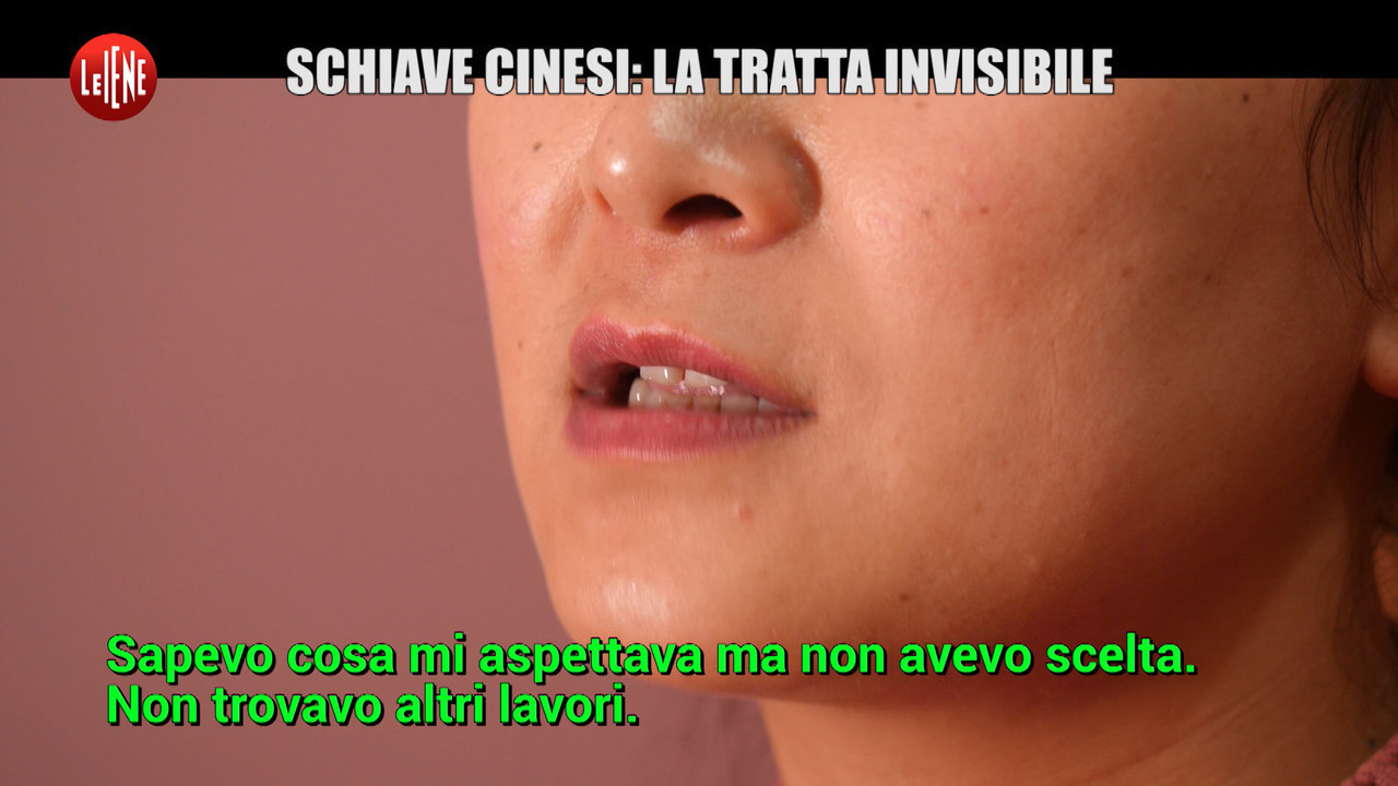 tratta invisibile schiave cinesi