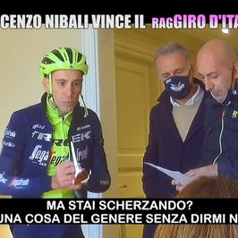giro d Italia scherzo Vincenzo nibali