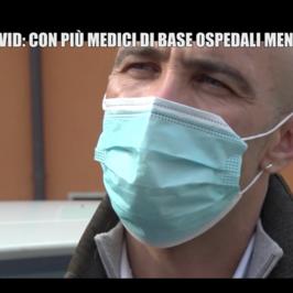 Riccardo dottore base Covid Nembro senza lavoro