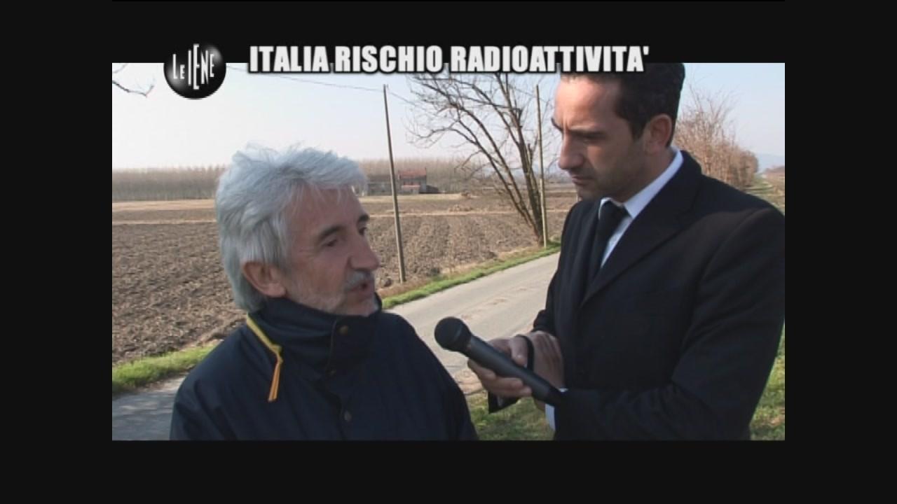 Rischio Radioattività italia