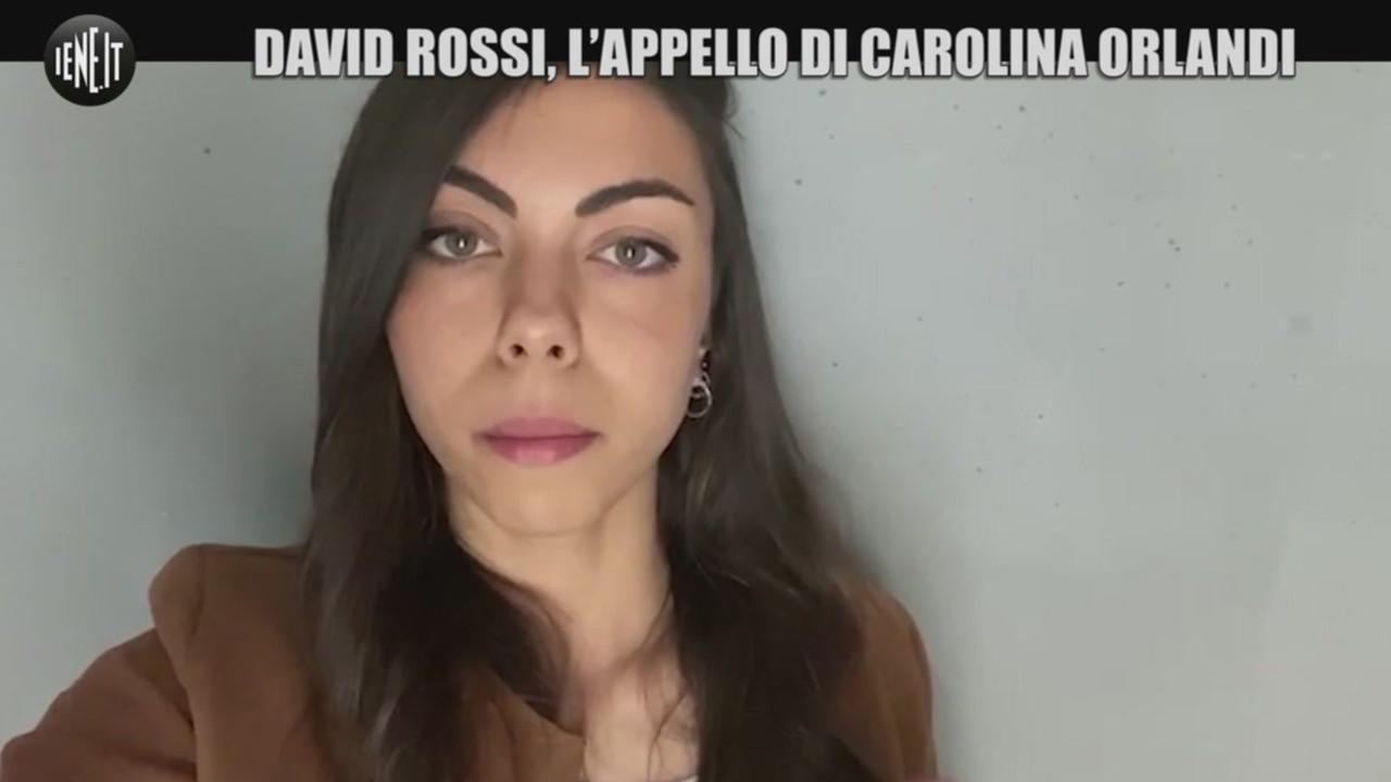David Rossi Carolina Orlandi commissione inchiesta