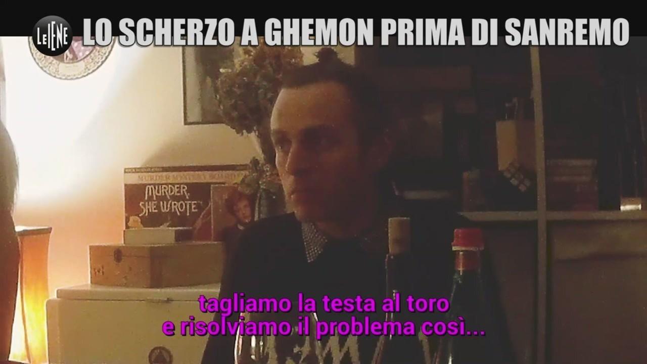 sneaker scherzo ghemon Sanremo