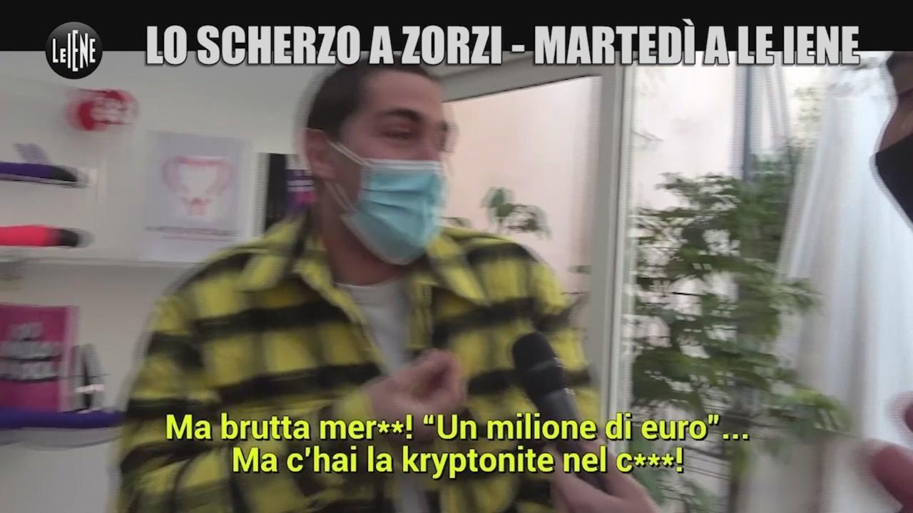 Tommaso Zorzi scherzo risarcimento