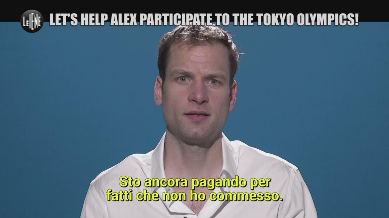help Alex participate Tokyo olympics