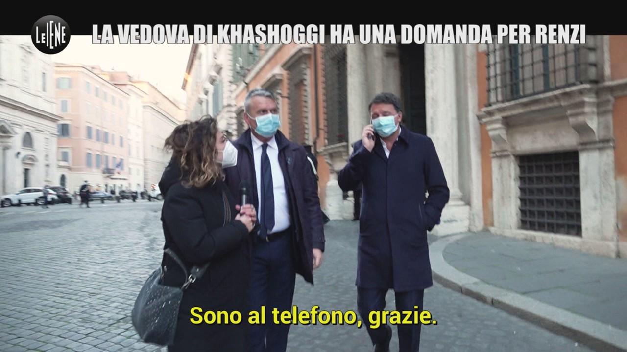 Conflitto interessi Renzi vedovakhashoggi