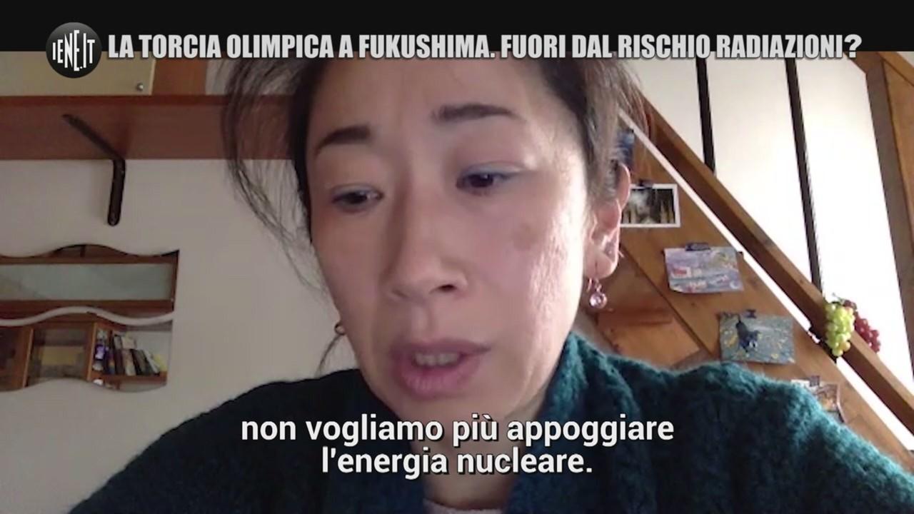 Fukushima torcia olimpica radiazioni