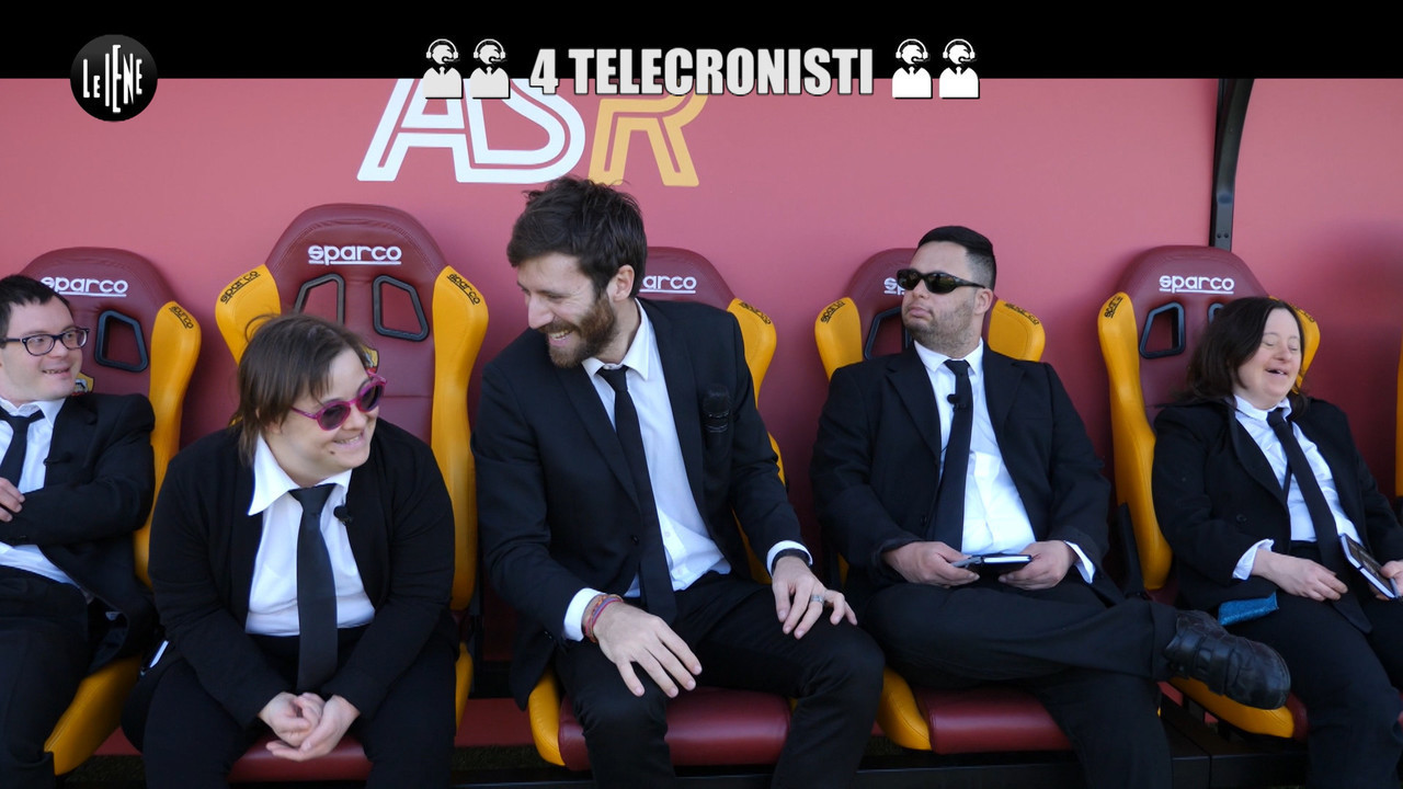 4 telecronisti as roma