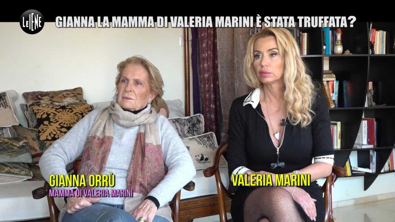 mamma Valeria Marini e stata truffata