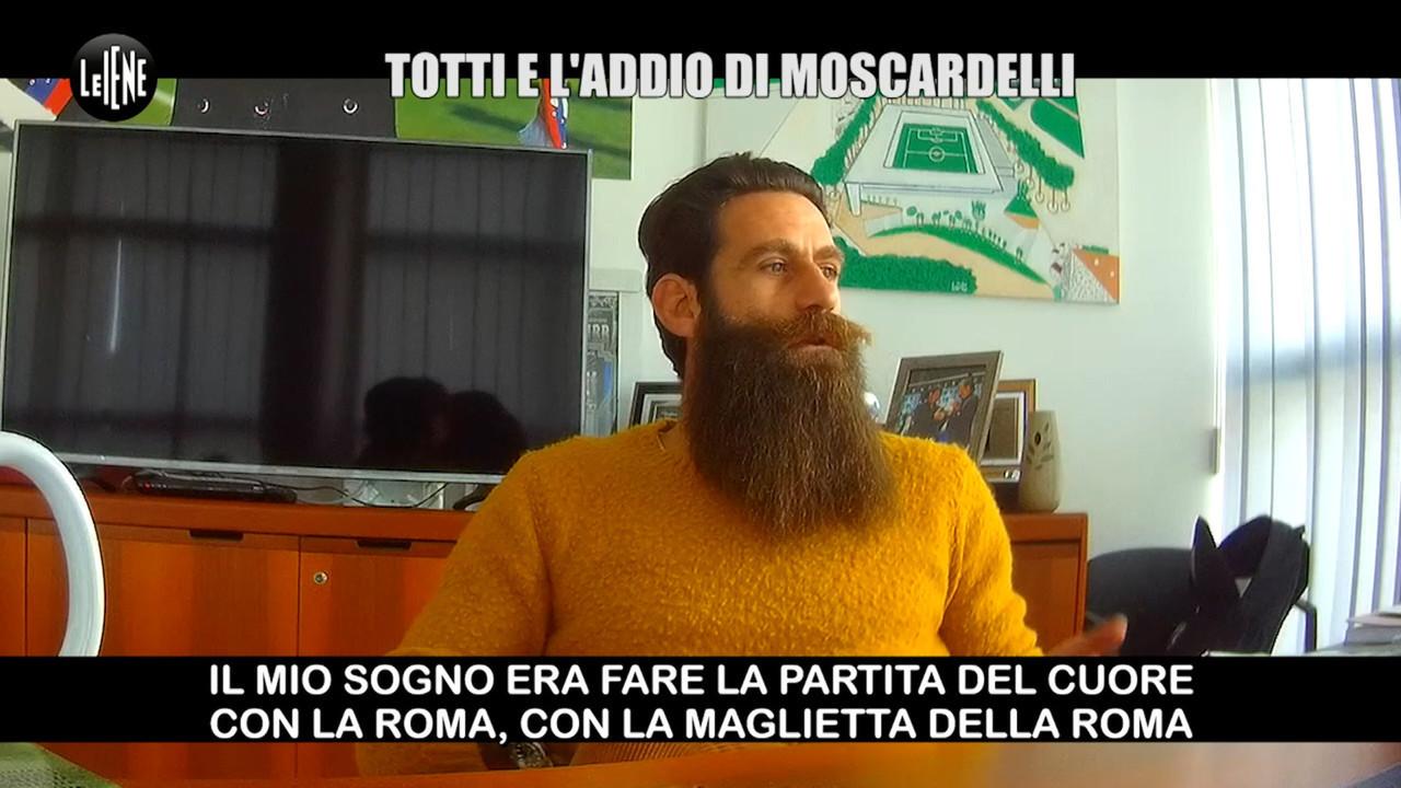 Scherzo Moscardelli totti