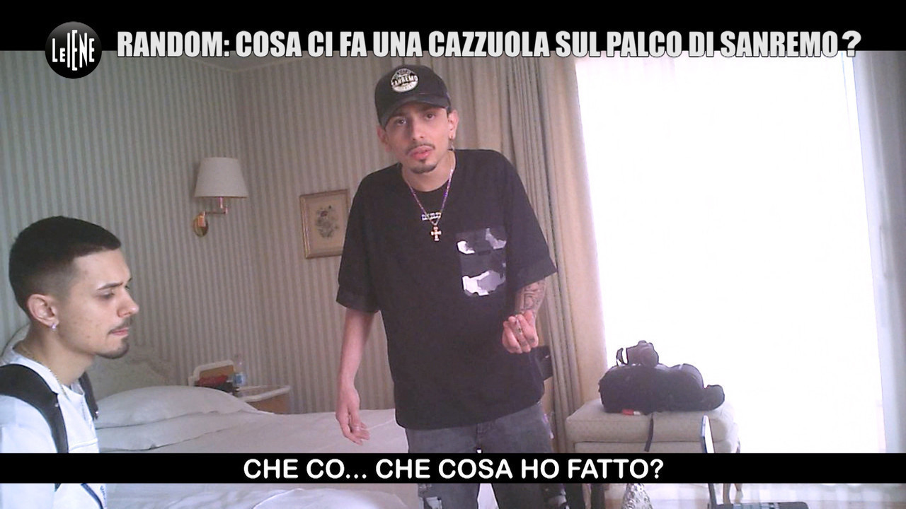 Scherzo random Sanremo