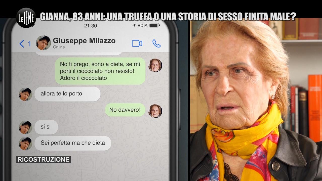 mamma Marini messaggi produttore truffa
