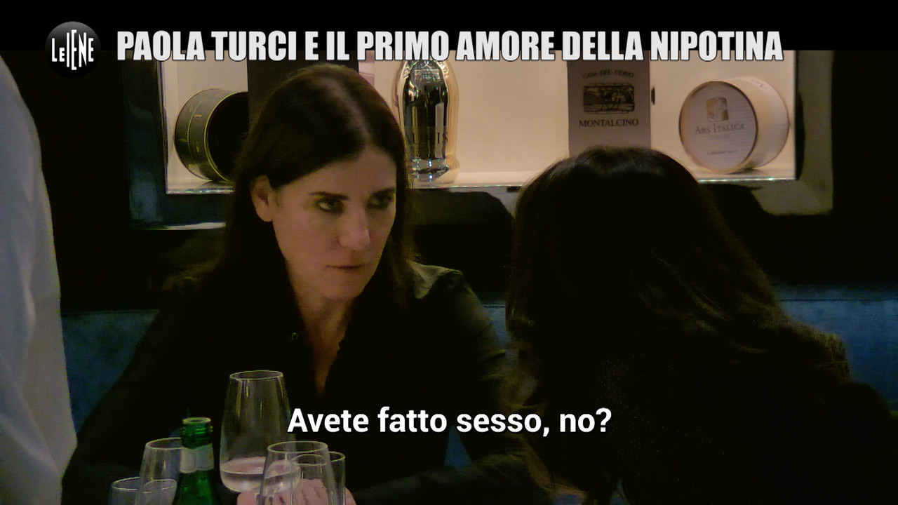 Scherzo a Paola Turci primo amore