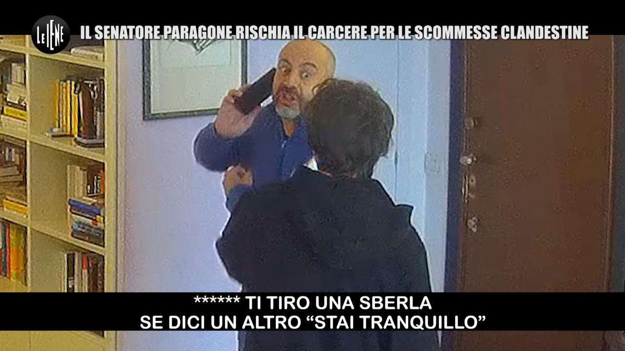Gianluigi Paragone figlio scommesse clandestine