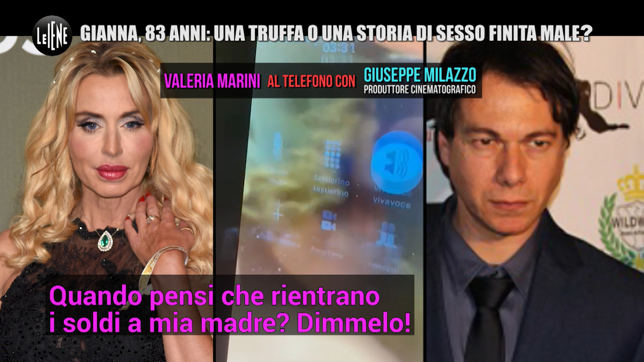 Mamma di Valeria Marini: truffa o storia finita male? | VIDEO