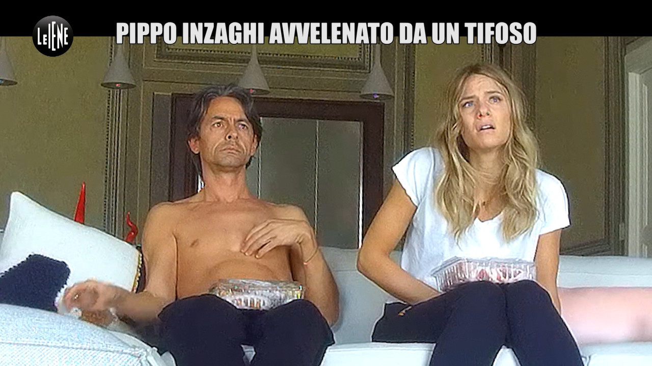 Pippo Inzaghi avvelenato da un tifoso