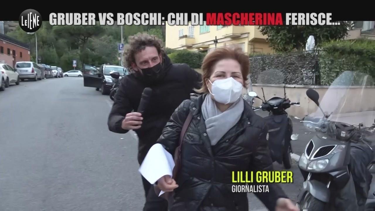 Gruber Vs Boschi mascherina