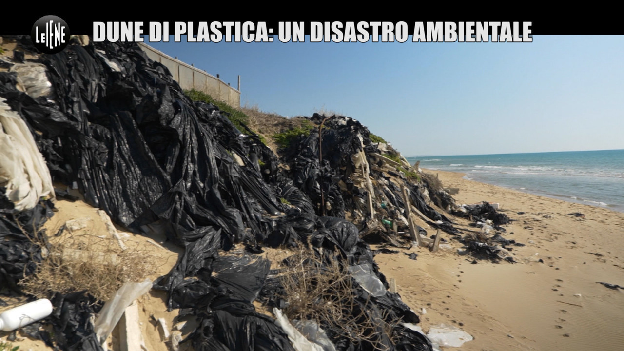 Dune di plastica disastro ambientale