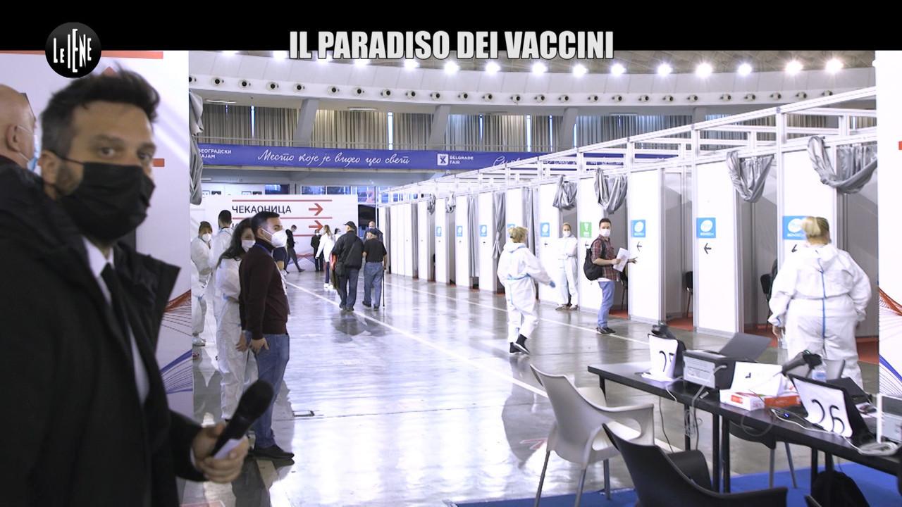 Serbia stranieri possono scegliere vaccino