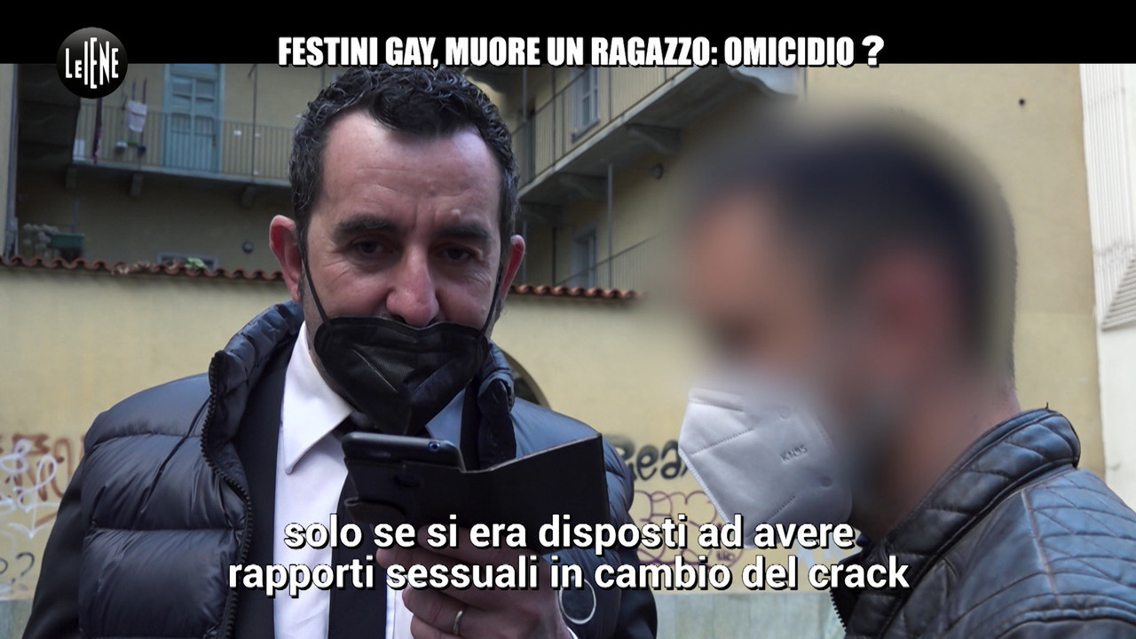 droga dramma Alessandro torino