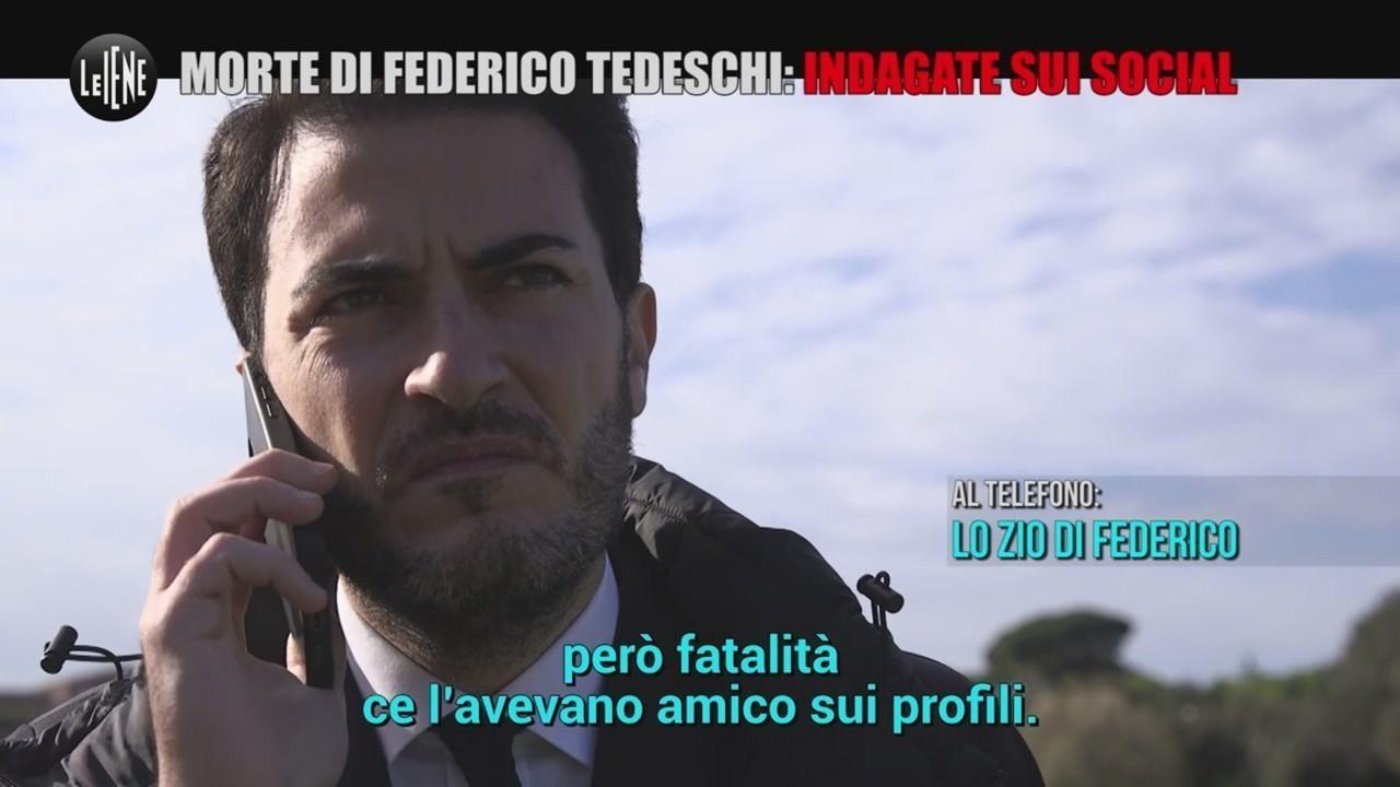 morte Federico Tedeschi